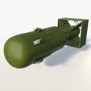 Nuclear bomb Little boy