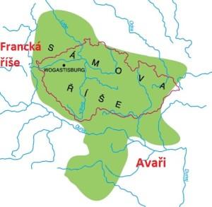 Sámova říše - mapa 2