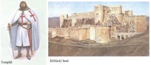Učebnice - Templář a křižácký hrad