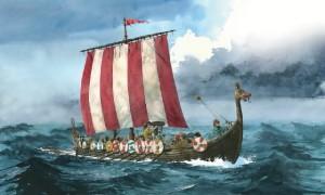 Vikingská loď 1