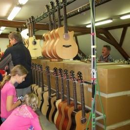 Exkurze do výrobny kytar