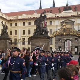 Páťáci v Praze