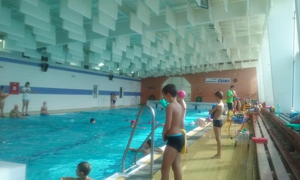 Plavání 2. tříd