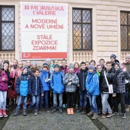 Exkurze do Moravské galerie