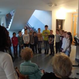 Zpívali jsme seniorům