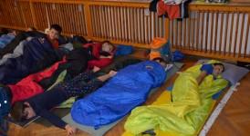 Noční družina ve škole