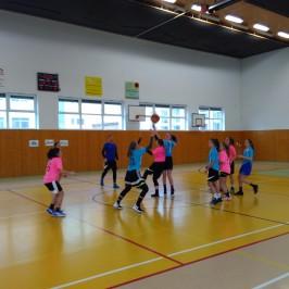 Basketbal dívek