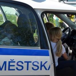 Městská policie v družině