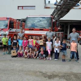 Exkurze do hasičské stanice